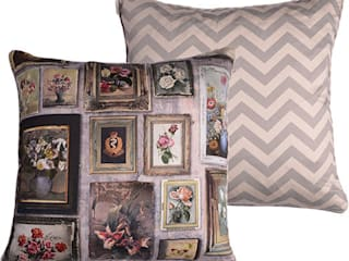 60 x 60cm Cushions: eclectic  by Emily Humphrey Design, Eclectic