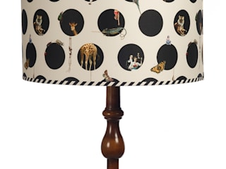 Bespoke Lampshades: eclectic  by Emily Humphrey Design, Eclectic