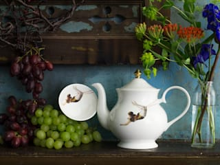 Trapeze Teapot:   by Melody Rose