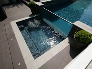 modern  by Tanby Swimming Pools, Modern