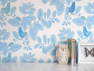Songe colori bleu:  de style  par Little Cabari