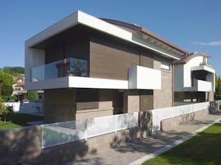 Modern houses by Stefano Zaghini Architetto Modern