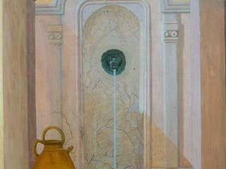 Peinture décorative par Joel Bassous artiste plasticien Méditerranéen