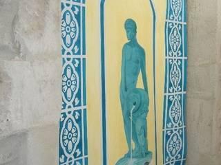 Peinture décorative par Joel Bassous artiste plasticien Classique