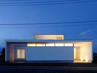 4つのコートを設けた家: 島田博一建築設計室が手掛けた家です。