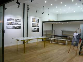 Bureau Espaces commerciaux modernes par RSK Architecture Moderne