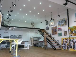 Bureau Espaces commerciaux originaux par RSK Architecture Éclectique