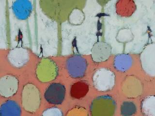 """tableau """"dans les arbres"""":  de style  par SIMON BELLEGO"""
