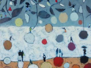 """tableau """" sous les feuilles"""":  de style  par SIMON BELLEGO"""