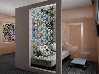 PROGETTO + ARREDAMENTO + HOTEL + CONTRACT: Negozi & Locali Commerciali in stile  di Designer1995  Live Work Design