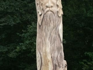 Queen Eleanors Green Man:   by The Carved Tree
