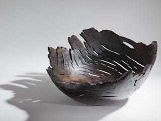 XXl Bog Oak bowl:   by Kieran Higgins Woodturnings