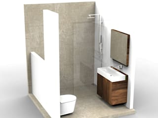 Small Bathroom Design:  Badkamer door Alexander Claessen