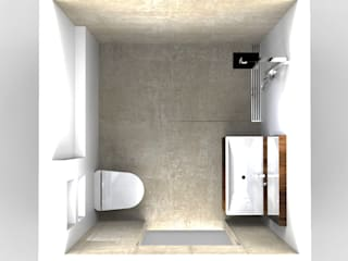 Bathroom: minimalistische Badkamer door Alexander Claessen