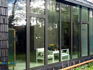 Ogrody zimowe Nowoczesne domy od Alpina Design Nowoczesny