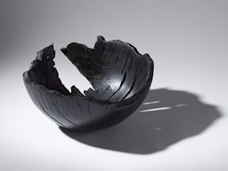 Bog Oak Bowl:   by Kieran Higgins Woodturnings