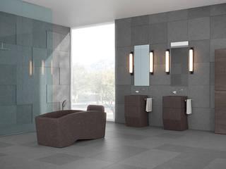 Bagno in Pietra Lavica Bagno moderno di Ranieri Pietra Lavica Moderno