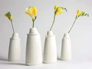 The Vases: modern  by Jo Davies Ceramics, Modern