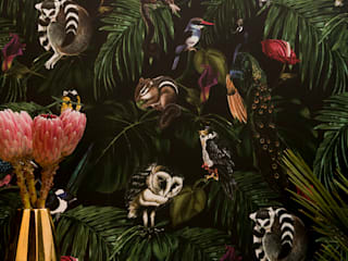 Amazonia Dark Wallpaper by Witch and Watchman