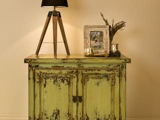 Tukang Vintage Sideboard - Green:   by puji