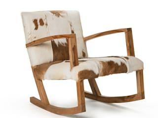 Natural Hide Rocking Chair:   by puji