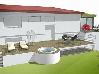 plan extension par Atelier Architectural