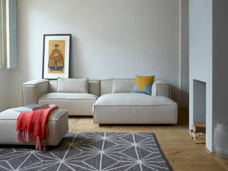 Scandinavian style living room by Ookinhetpaars Scandinavian