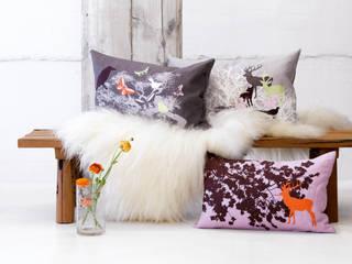 Ookinhetpaars de webshop voor kleurrijke kussens en prachtige plaids:  Woonkamer door Ookinhetpaars,