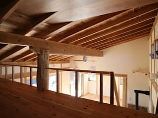 鴻巣の家 オリジナルデザインの 多目的室 の 八島建築設計室 オリジナル