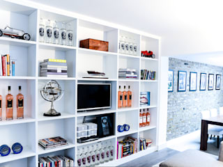 Fitted Shelves, Putney:   by Vivid line furniture ltd