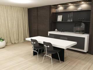 Living en eetkamer Moderne eetkamers van AD MORE design Modern