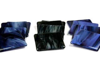 Fluid fused glass range:   by RD Glass