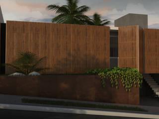 Residência E.C VI por Arqmais Minimalista