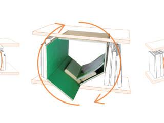 Module de rangement BLOOK par Nicolas GRANGER Minimaliste