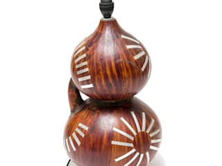 Calabash Lamp Stand:   by From Africa