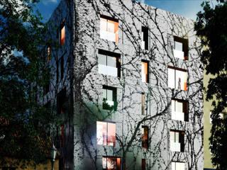 Obecni Dvur:  de estilo  de Ricardo Bofill Taller de Arquitectura