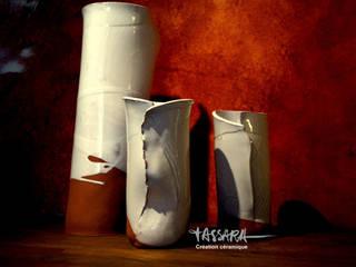 Blanc Brut:  de style  par Tassara Céramiques