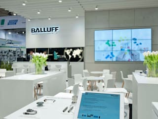 Expotechnik Group_Balluff auf Hannover Messe_05:  Messe Design von Expotechnik Group