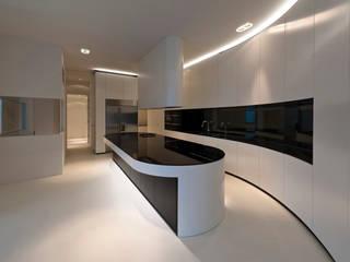 123DV Moderne Villa's Cocinas de estilo moderno