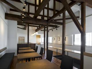さくら舎: THNK一級建築士事務所が手掛けたオフィススペース&店です。