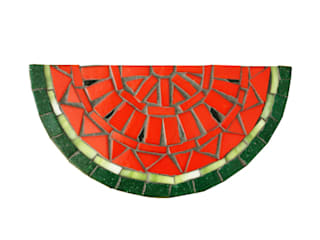 Watermelon Trivet for Hot Pans: tropical  by Juan is Dead, Tropical