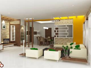 Preetham Interior Designer Minimalistische Wohnzimmer