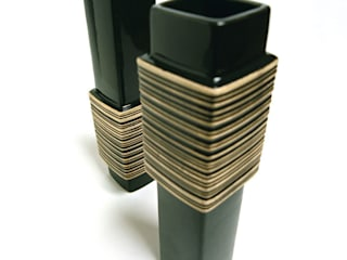 Barcode Vase by Bromley & Bromley
