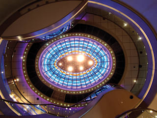 Ceiling of the cruiseship P&O Arcadia:  Commercial Spaces by Jo Downs