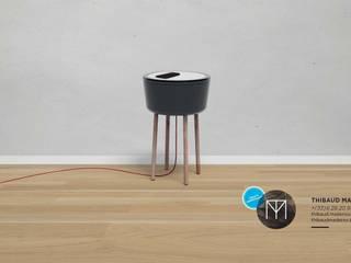 Table de chevet BAVARDE par TM - Créatif Indépendant Moderne
