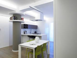 Casa BT Laboratorio di Progettazione Claudio Criscione Design Sala da pranzoIlluminazione