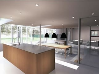 Andover Road IQ Glass UK Modern kitchen