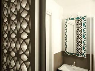 Casa BT: Bagno in stile  di Laboratorio di Progettazione Claudio Criscione Design