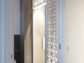 Casa BT: Bagno in stile in stile Moderno di Laboratorio di Progettazione Claudio Criscione Design