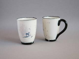 Vaisselle et deco en porcelaine par Nadège Richard Éclectique